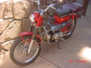 1969 honda trail 90 | one owner | 1128 MILES