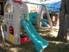 Little tikes swing set and slide play house - $250